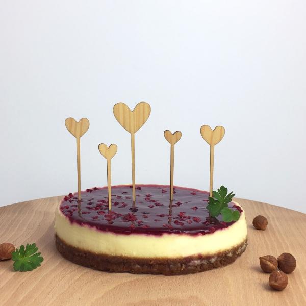 cake topper coeur